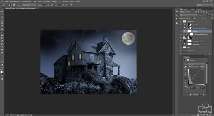 день и ночь в фотошоп-13