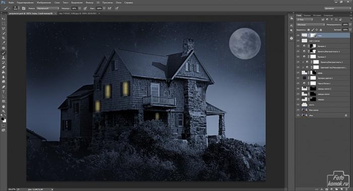 день и ночь в фотошоп-20