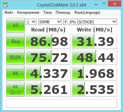 Тест карты памяти Silicon Power ELITE microSDXC 64GB UHS Class 1