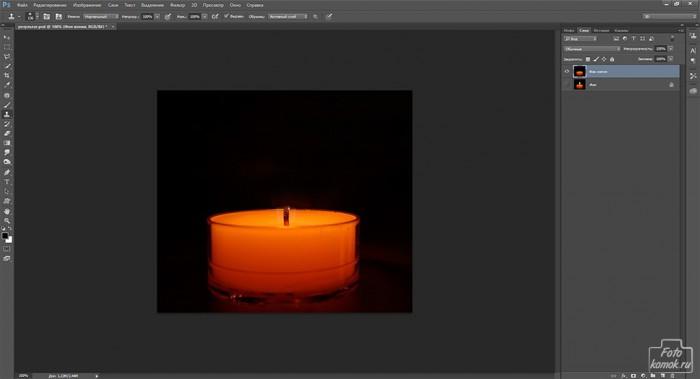 Анимация свечи -01
