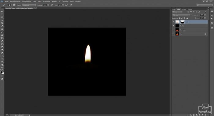Анимация свечи -04