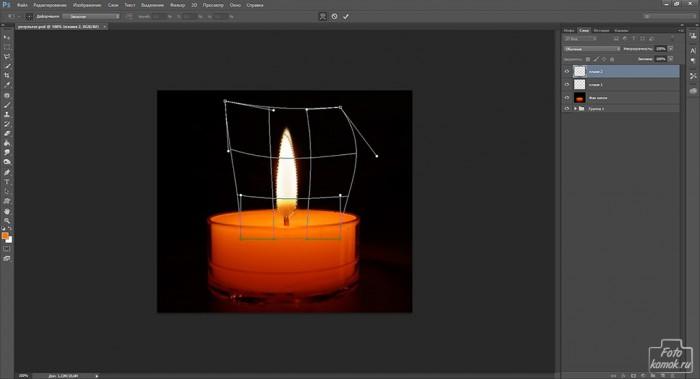 Анимация свечи -05