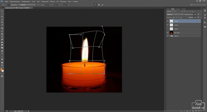Анимация свечи -06