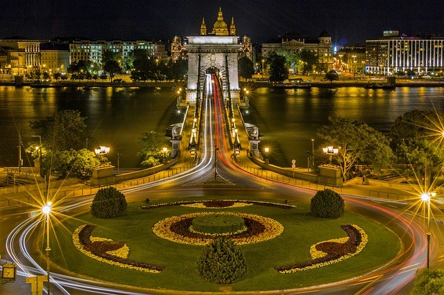 Цепной мост. Будапешт. Венгрия