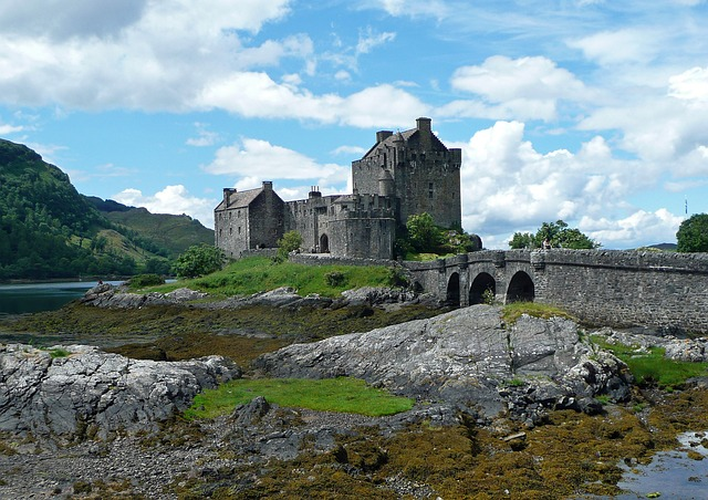 Замок Eilean Donan, Шотландия