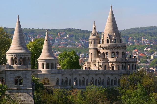 Рыбацкий Бастион. Будапешт.  Венгрия
