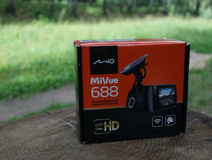 Mio MiVue 688 box