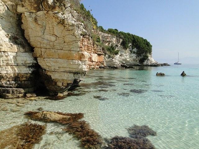 остров Паксос, Греция