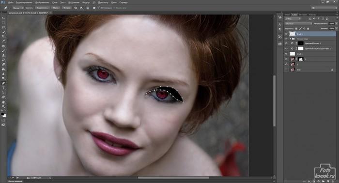 макияж в образе вампира-13