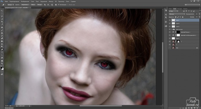 макияж в образе вампира-15