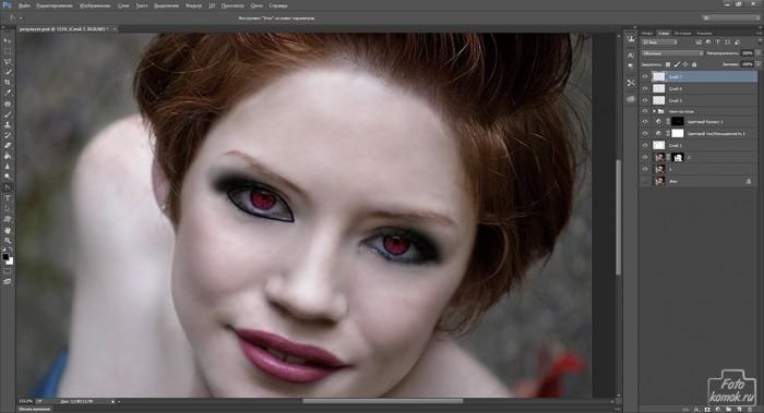 макияж в образе вампира-17