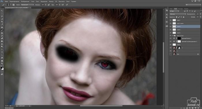 макияж в образе вампира-21