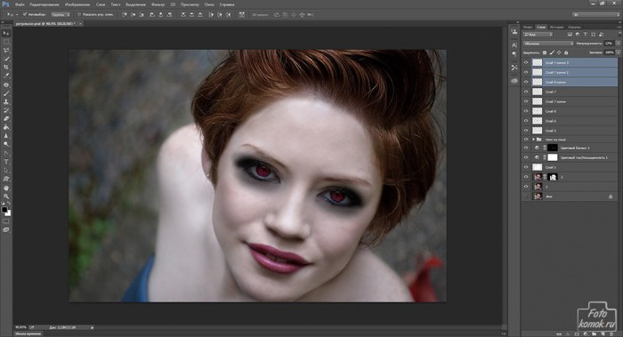 макияж в образе вампира-23