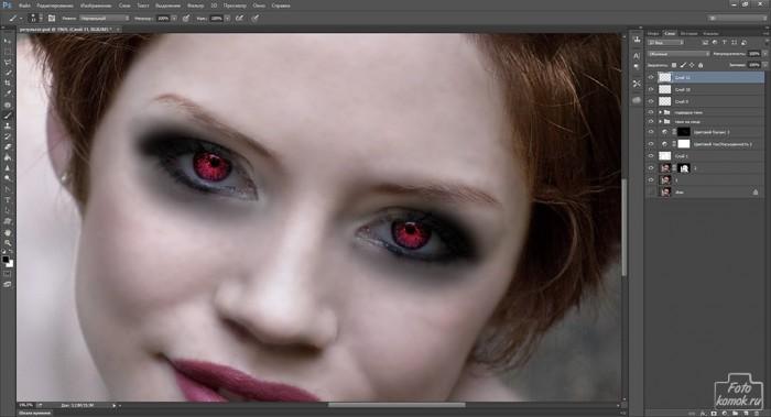 макияж в образе вампира-27