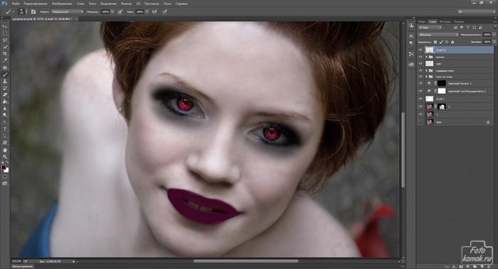 макияж в образе вампира-28