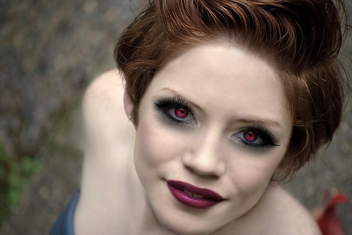 В стиле вампир