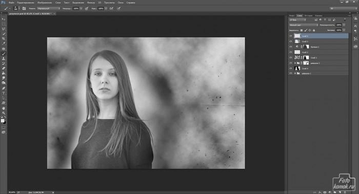 оформление черно белой фотографии-10