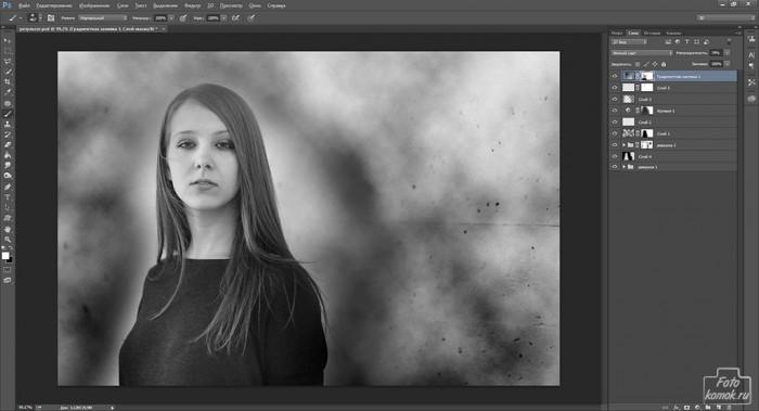 оформление черно белой фотографии-12