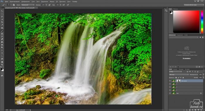 Анимация водопада-05
