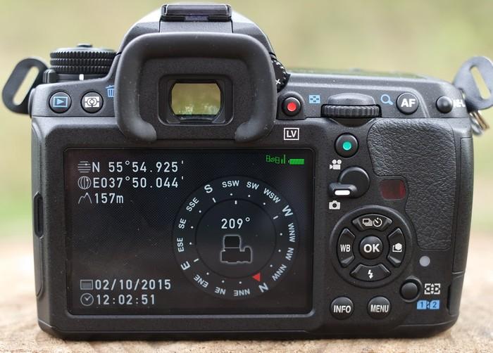 Pentax K-3 II GPS