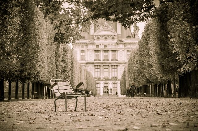 Сад Тюильри. Париж