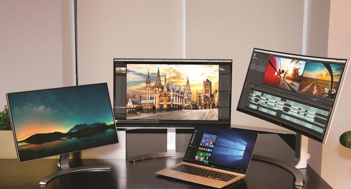 Мониторы LG 24MP88, 27UD88, 34UC98 и ноутбук LG gram 15 (PC15Z960)