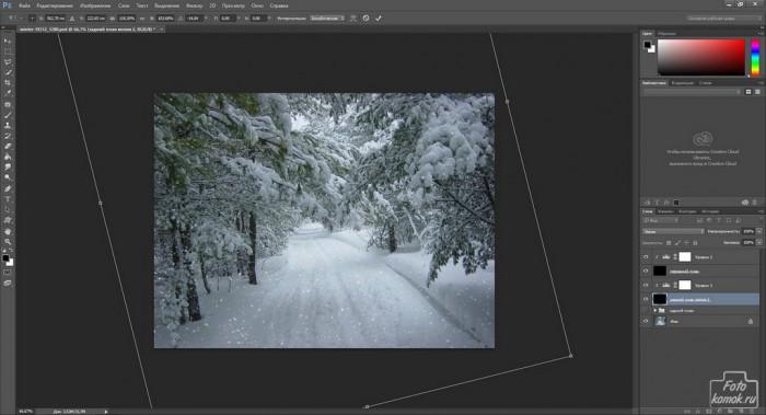 Создание реалистичного снега-17