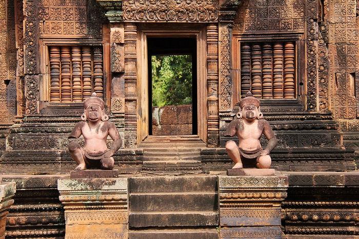Храм Бантей-Срей, Камбоджа