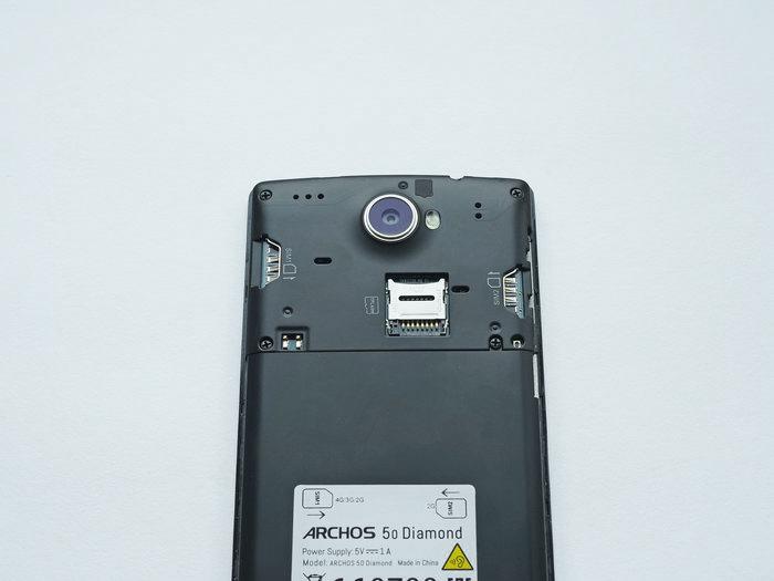 Обзор смартфона Archos 50 Diamond