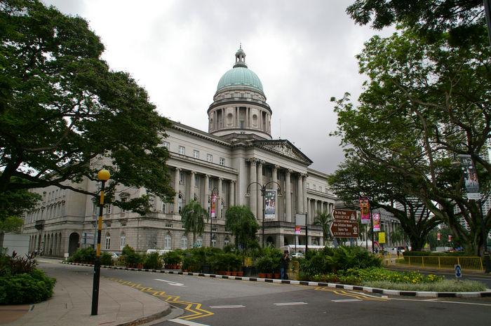 Старинная застройка Сингапура