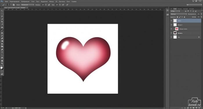 Объемные сердечки к 14 Февраля-09