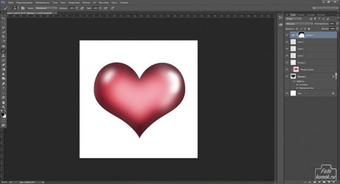 Объемные сердечки к 14 Февраля-20
