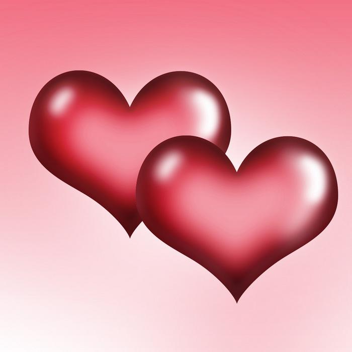 Объемные сердечки к 14 Февраля