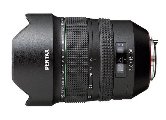 PENTAX-D FA 15-30mm F2.8ED SDM WR
