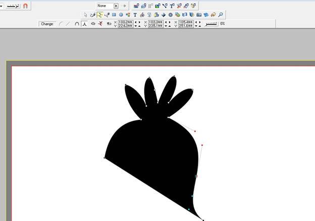 Рисуем ворону-02
