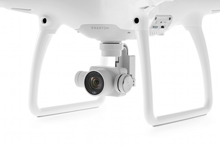 DJI Phantom 4 камера