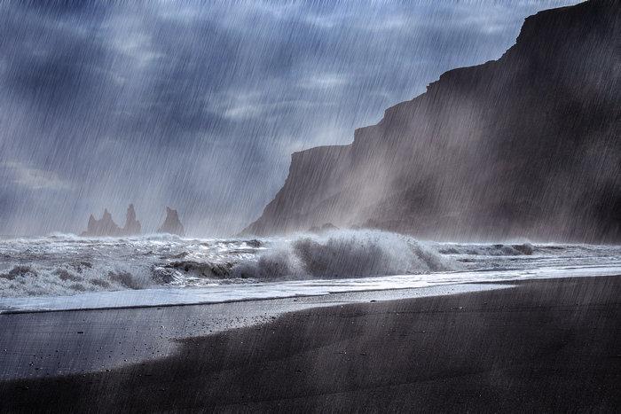 Добавляем дождь на фотографию