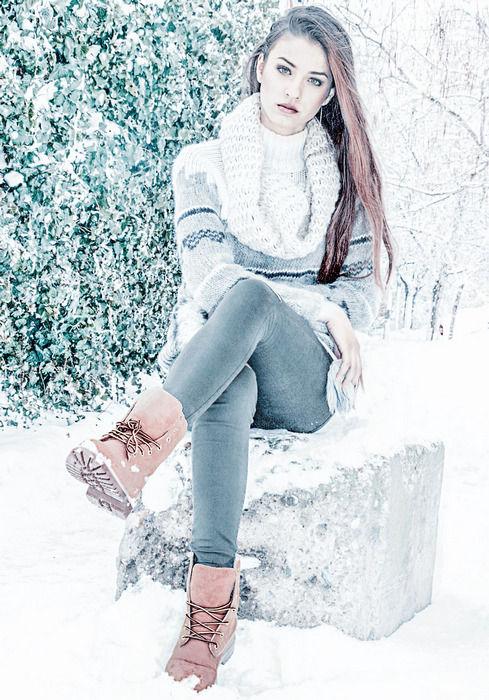 Зимняя ретушь