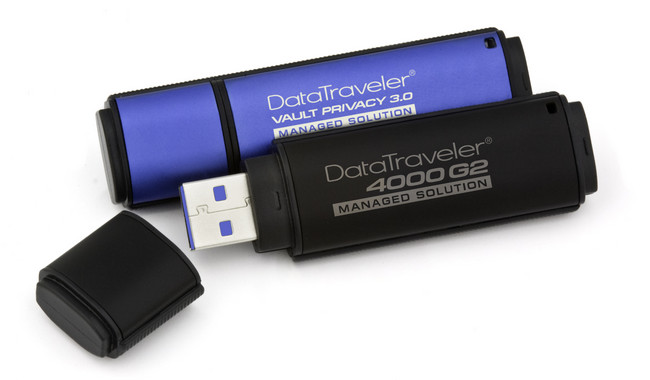 DataTraveler 4000G2 (DT4000G2DM) и DataTraveler Vault Privacy 3.0 (DTVP30DM)