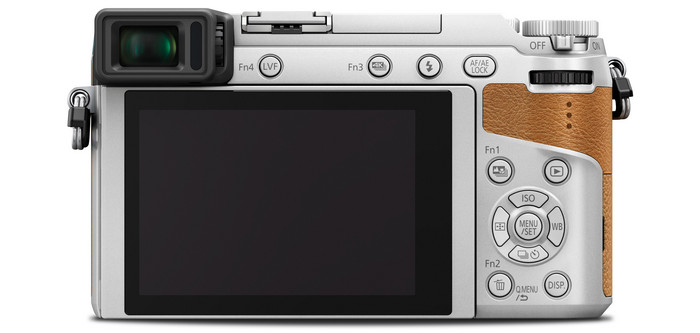 Panasonic LUMIX DMC-GX80 back