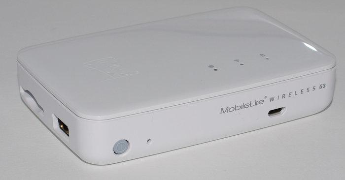 Kingston MobileLite Wireless G3 - face