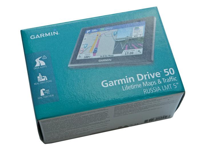 Garmin drive 50 упаковка