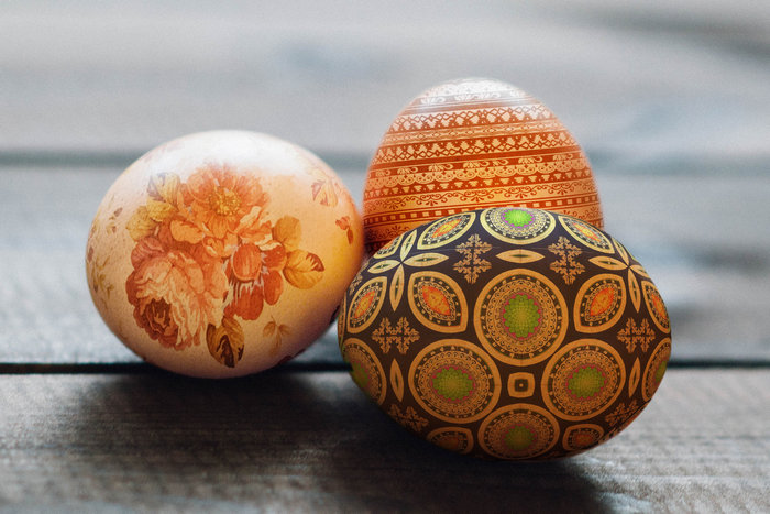 пасхальные яйца в Фотошоп-1