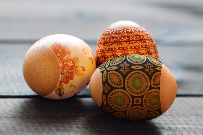 пасхальные яйца в Фотошоп-2