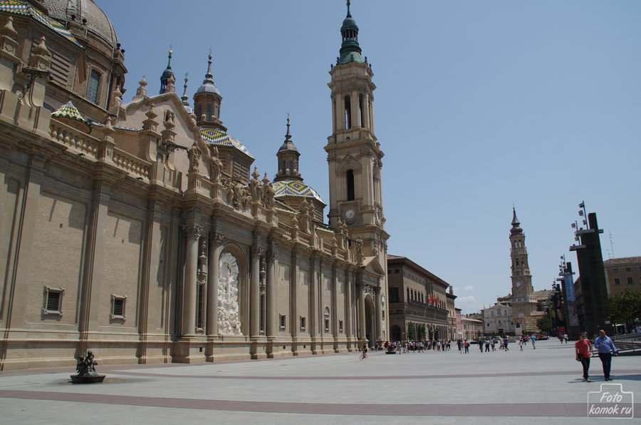 Базилика-де-Нуэстра-Сеньора-дель-Пилар, Сарагоса