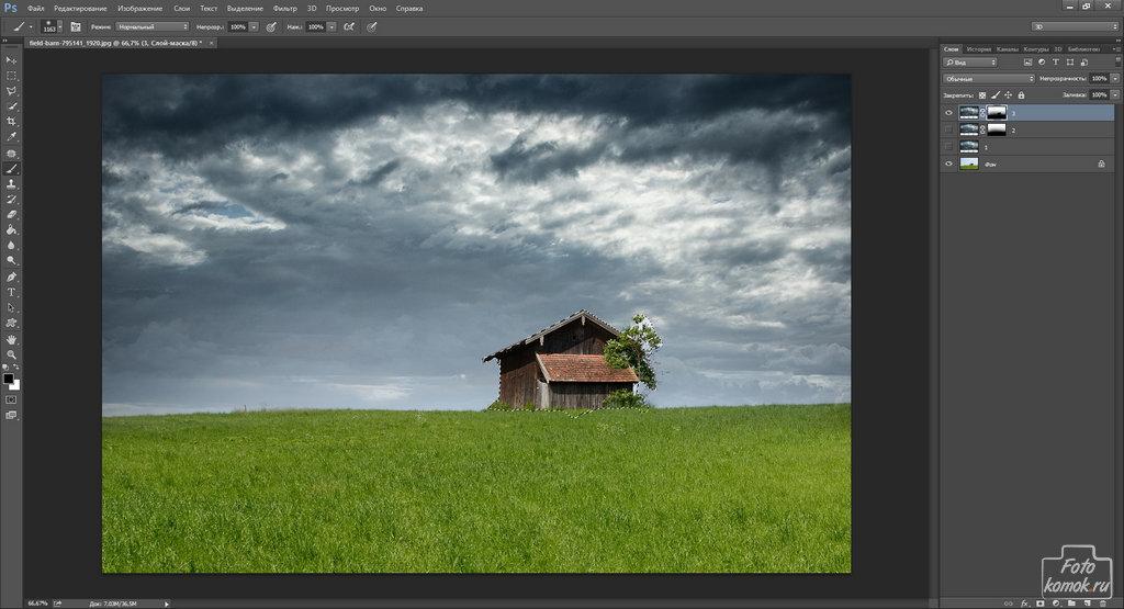 Замена неба на фотографии-04