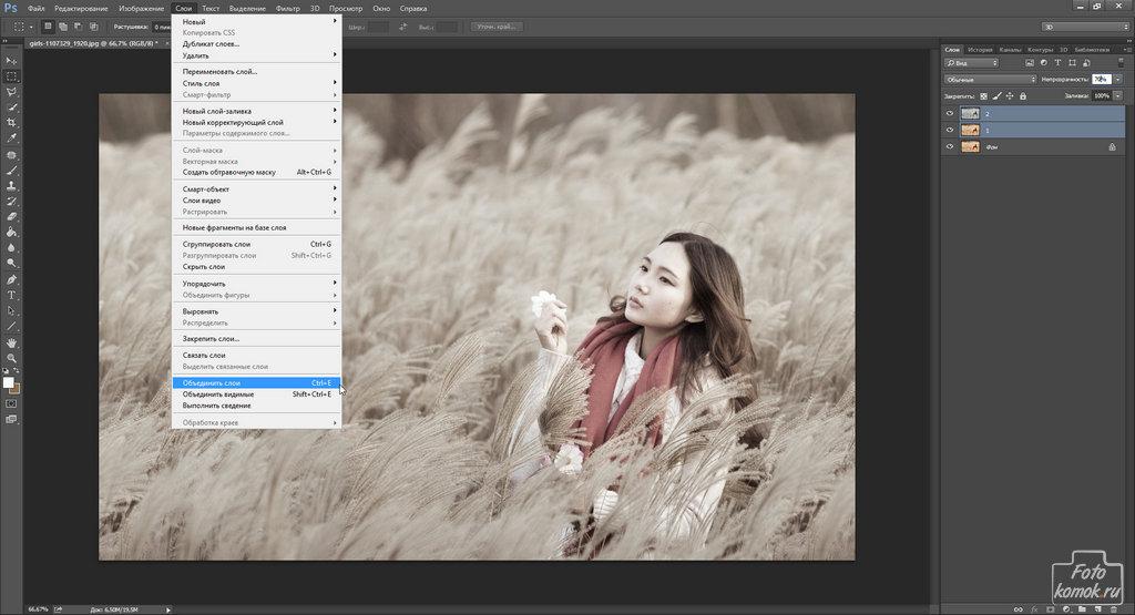 Преобразование фотографии в холст-02