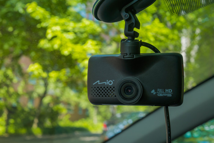 mio 698 передняя камера