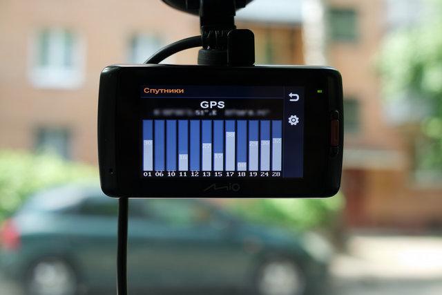 mio 698 GPS спутники