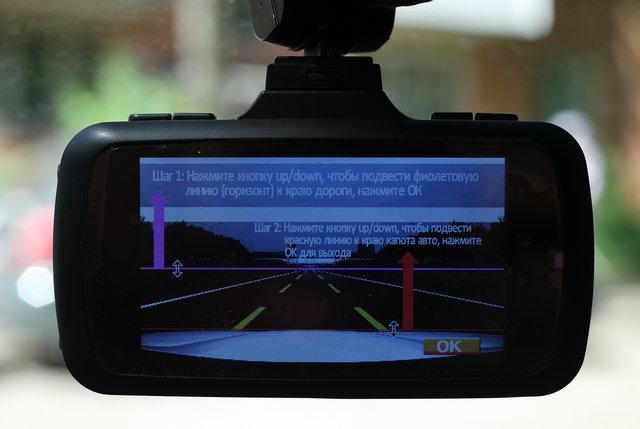 Система контроля нахождения в полосе движения (LDWS)